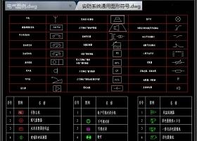 原创2019安防监控系统CAD图库