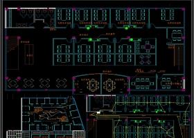 全套精致咖啡厅CAD施工图