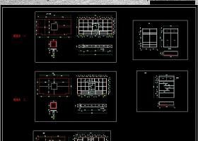 原创榻榻米CAD设计图纸平立面配装饰柜