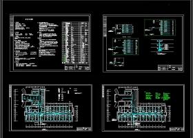 精致全套时尚健身房CAD施工图