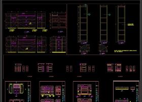 現代極簡輕奢全屋定制CAD圖庫