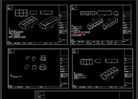全屋定制榻榻米设计案例CAD图库