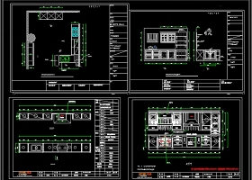 原创精品橱柜CAD图库