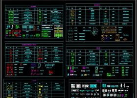 原创弱电自动智能化系统图块cad