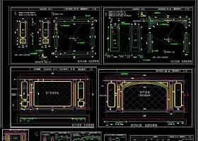 原创别墅完整全屋定制设计cad图