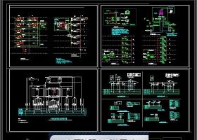 原创医院弱电系统图CAD图库