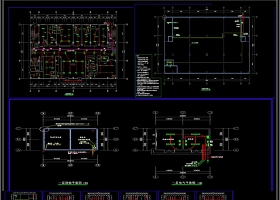 CAD医院门诊楼弱电智能化系统平面图