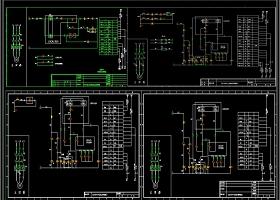 标准公用电机CAD原理图