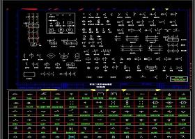 CAD电气绘图符号库CAD图纸