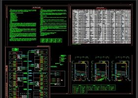 原创小学弱电系统CAD施工图