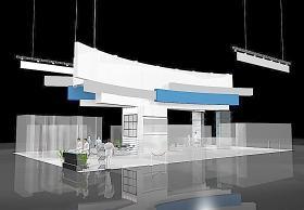 MAX 展厅模型设计源文件图片