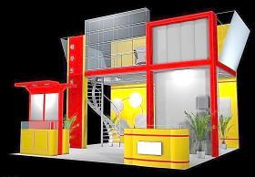 3D展覽設計圖片
