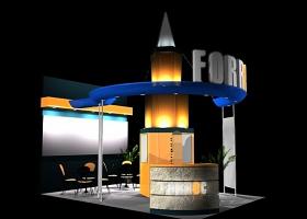 FORREC模型3D展台下载