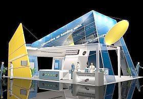 3D展厅设计图片