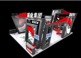 振业集团展览模型下载