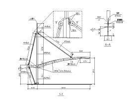 膜结构汽车棚结构施工图