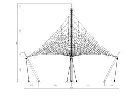 飞燕膜结构工程施工图