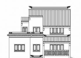 [蘇州徽派]某二層別墅古建設計施工圖
